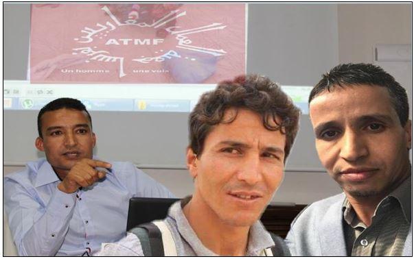 """الزميل """" محمد بوطعام """" رفقة «عمر موجان» و « محفوظ بيكليم » يؤطرون ندوة بــجونفيليي حول """" مافيا العقار """" من تنظيم جمعية العمال المغاربيين بفرنسا ( ATMF )"""