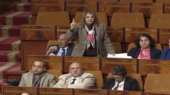 فيديو ..نايضة في مجلس النواب بسبب مول الحانوت الشلح