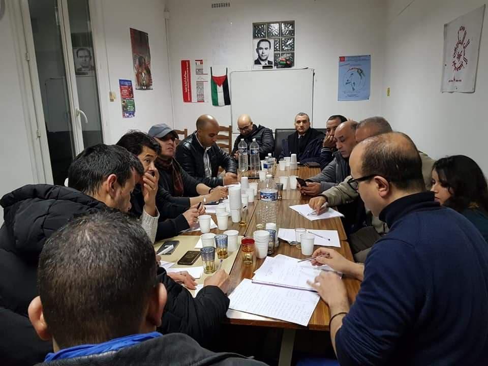 بيان باريس يتهم القضاء ومجموعة من مؤسسات الدولة بالمغرب بالتواطؤ مع جهات نافذة للترامي على املاك المواطنين ويدعو الى وقفة احتجاجية بالعاصمة الفرنسية يوم 13 يناير
