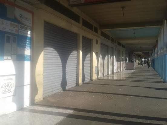 بالصور ..تجار بمجموعة من المناطق بسوس ينفذون إضرابهم وشلل تام في إنزكان طال المحلات و المقاهي والمطاعم