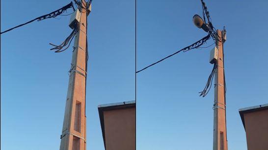 جرائم سرقة أسلاك الكهرباء تثير الاستياء في تيزنيت