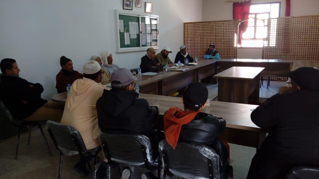 إداوسملال: إعدادية محمد البقالي والجمعية الإحسانية تسطران برنامجا للعمل المشترك