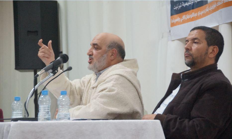 """تيزنيت : أبو زيد يعتذر من جديد لكل من أساءت اليه """" النكتة"""""""