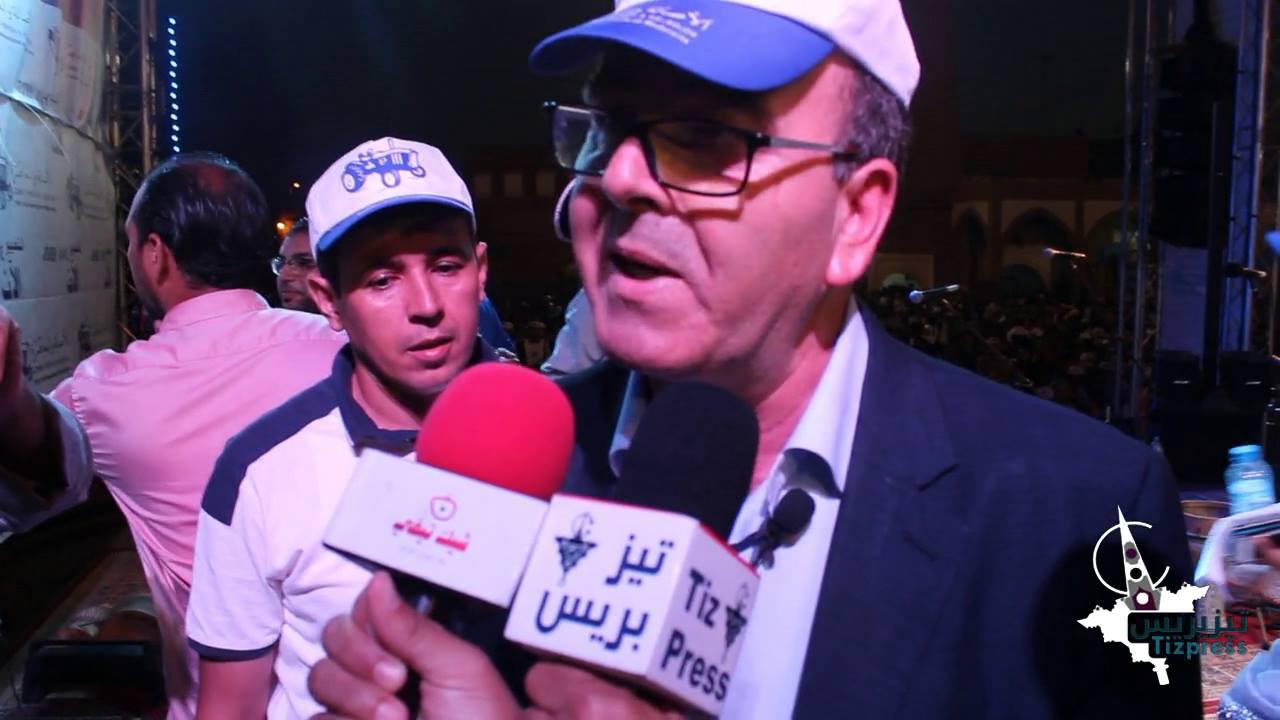 """فيديو : """" بنشماس"""" يرد على ما ورد في مداخلة المقرئ أبوزيد بمدينة تيزنيت"""