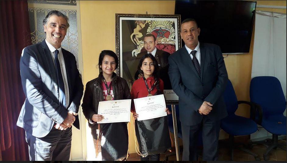 تافراوت : لجنة اقليمية في زيارة لمدرسة محمد الخامس  لتحفيز التلميذاتالمشاركات في مسابقة Hackaton coding 2019