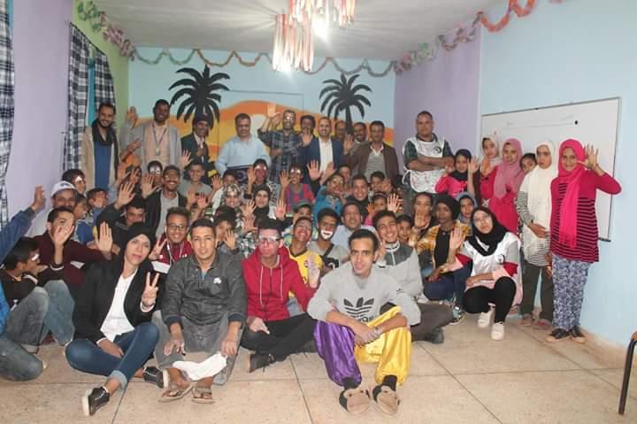 سيدي إفني: جمعية مشعل النور تدخل السرور في قلوب أطفال دوار السماهرة