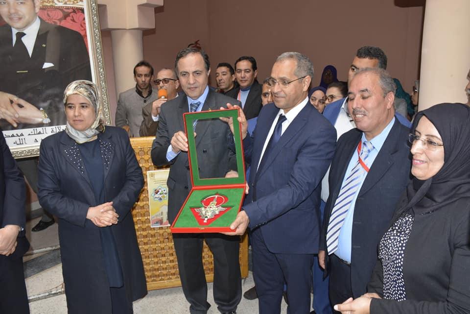 تيزنيت : افتتاح مركب بوركوز لتسويق منتجات التعاونيات