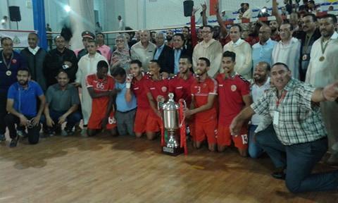 تيزنيت: وداد السمارة بطلاً لبطولة المغرب لكرة اليد