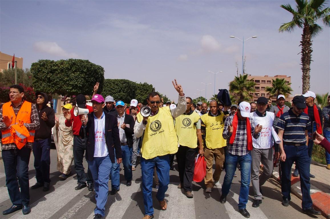 خمس نقابات تعليمية تدعو إلى إضراب يومي التلاثاء و الأربعاء 14 و 15 مـــاي الجاري مع وقفات و اعتصامات و مسيرات بالشموع طيلة شهر رمضان