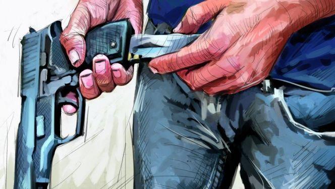 تيزنيت :دورية أمنية تُشهر المسدس في وجه مُجرم هائج هاجم عناصر الأمن بواسطة سيف