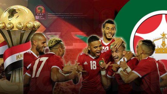 برنامج مباريات المنتخب المغربي في كأس إفريقيا 2019