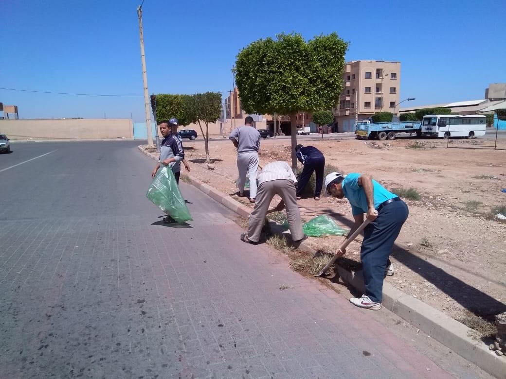 تيزنيت : بالصور ..جمعية النخيل 2 تنخرط في فعاليات الأيام البيئة و التنمية المستدامة