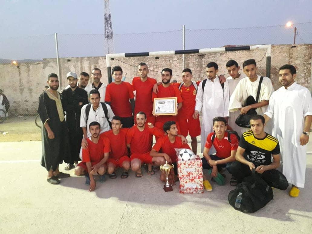 """تيغمي : اسدال الستار على فعاليات دوري رمضان لكرة القدم المصغرة بتتويج فريق """"إتحاد أنزي"""""""