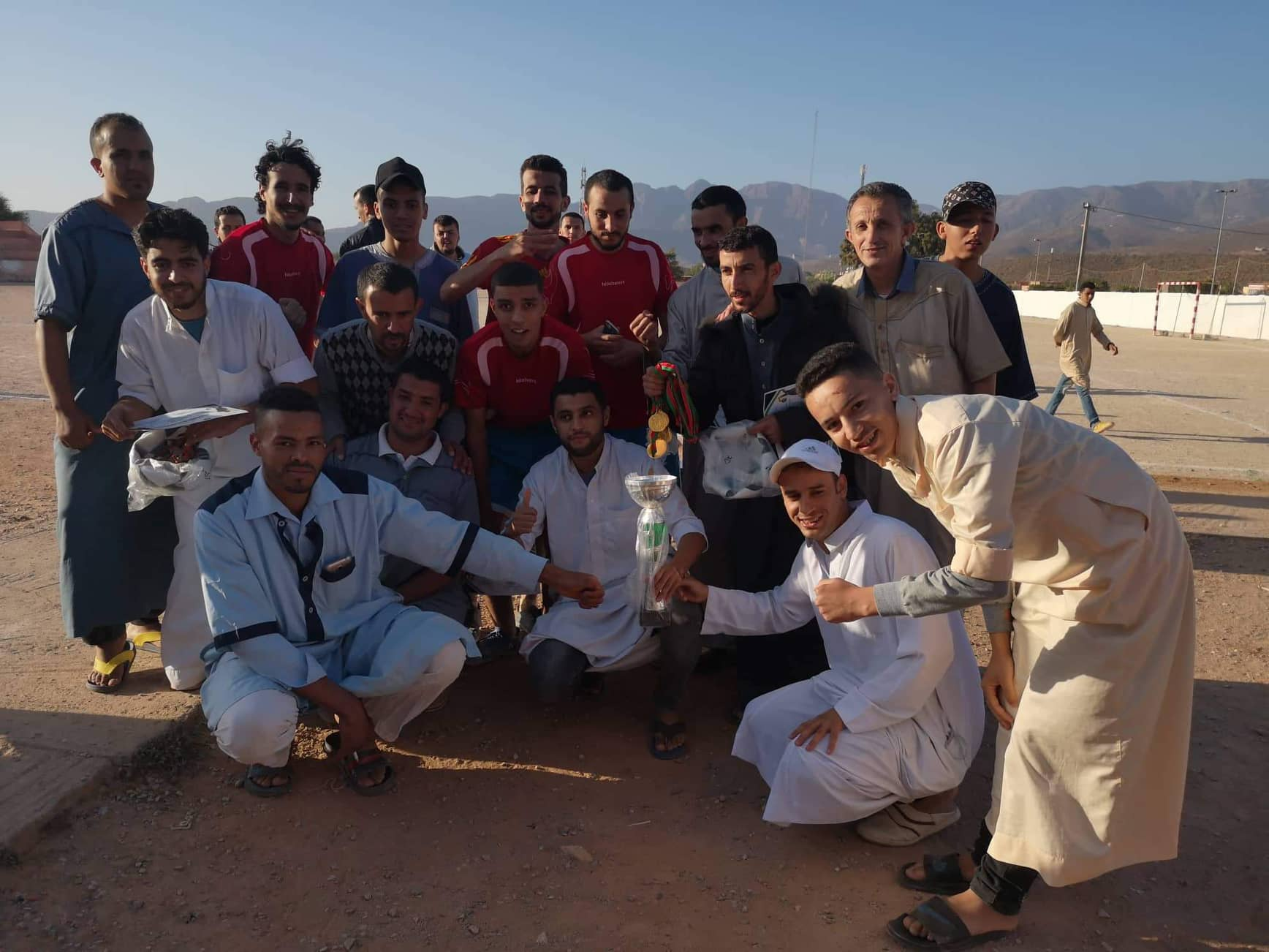 فريق إفراراين بطلاً لدوري رمضان بأنزي