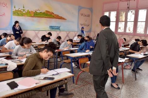 """ضبط  55 حالة غش في اليوم الأول من  """"الامتحان الجهوي"""" بجهة سوس ماسة"""