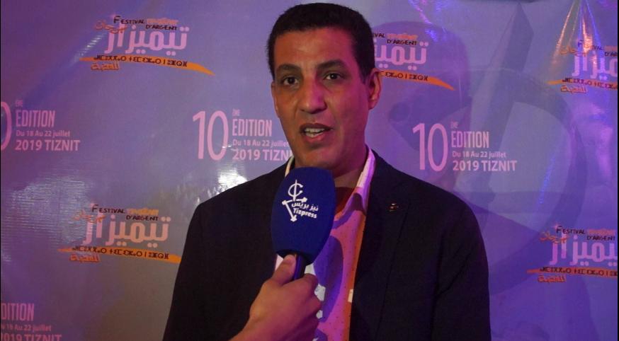 """عبد الحق أرخاوي : مهرجان """"تيميزار"""" يسير في الطريق الصحيح وله وَقْع اقتصادي كبير على المدينة"""