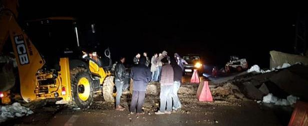 إنتشال جثث ضحايا فاجعة الحوز بعد الوصول اليها