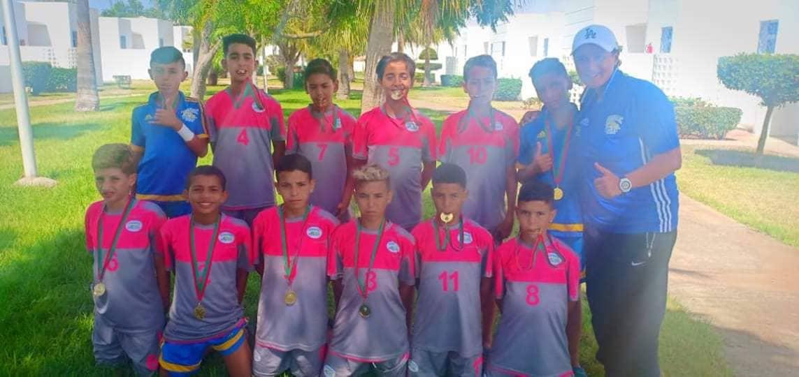 منتخب عصبة سوس يحتل الرتبة الثالثة فيالبطولة الوطنية U12 ..و ثلاثة لاعبين من هذا المنتخب من تيزنيت