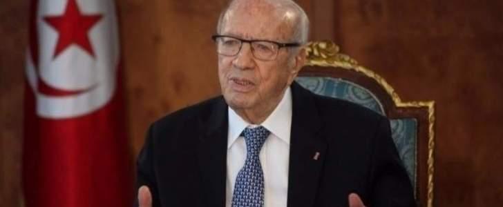 الرئاسة التونسية تعلن وفاة الرئيس الباجي قايد السبسي