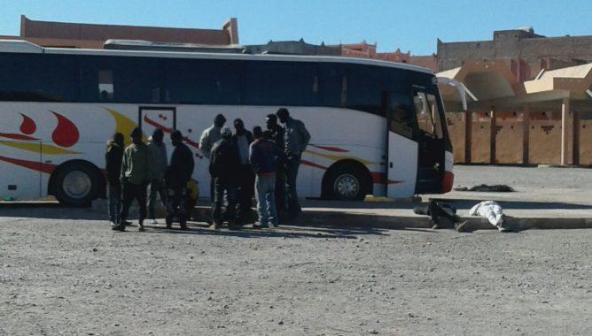 تيزنيت تستقبل من جديد حوالي 74 مهاجرا افريقيا