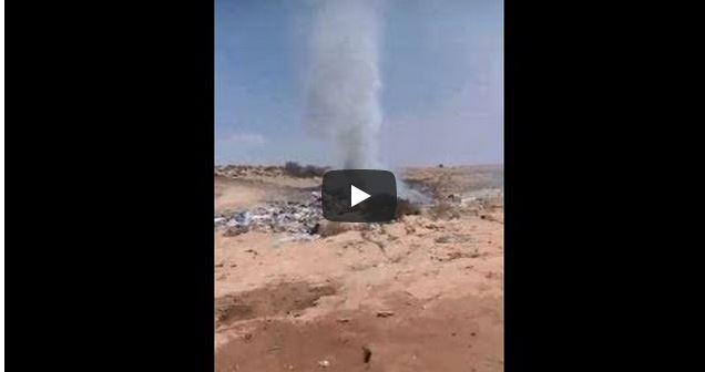 بالفيديو ..ساكنة أولاد جرار تختنق بسبب الدخان المنبعث من مطرح النفايات