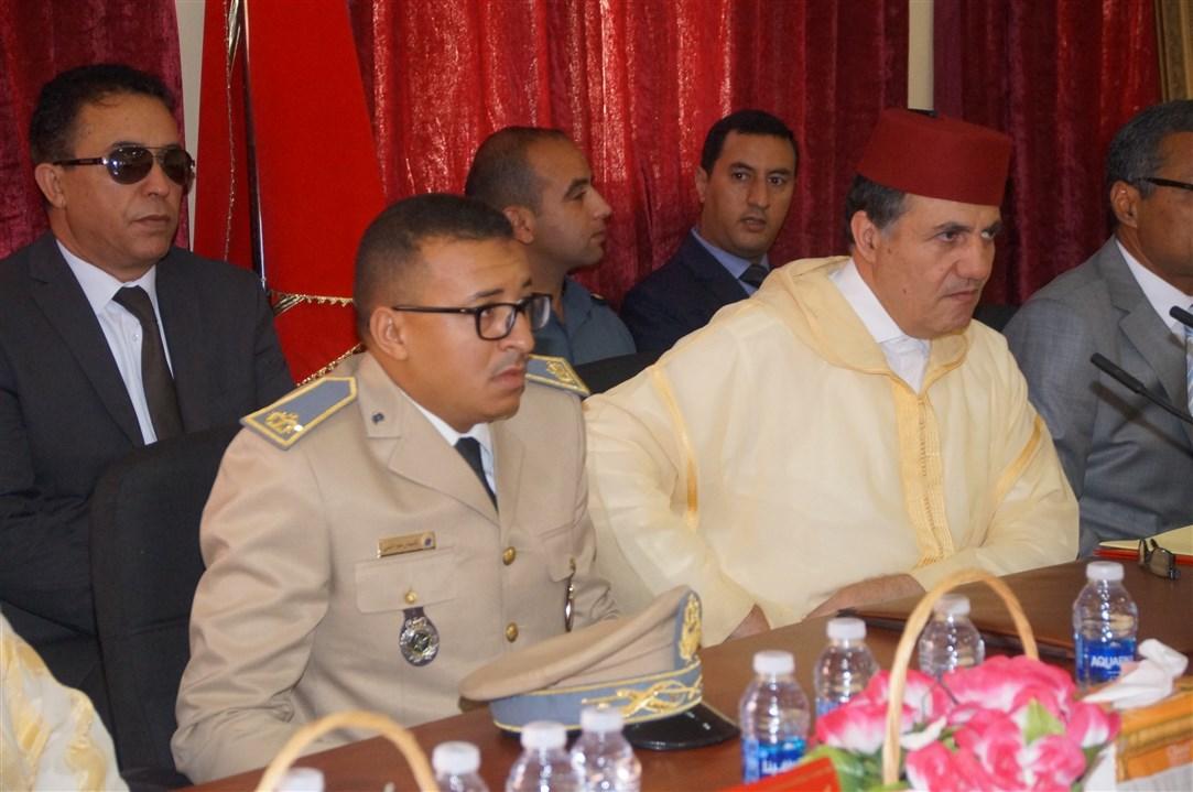"""حفل تنصيب """" عبد الغني النجار """" قائدا لقيادة أربعاء رسموكة"""