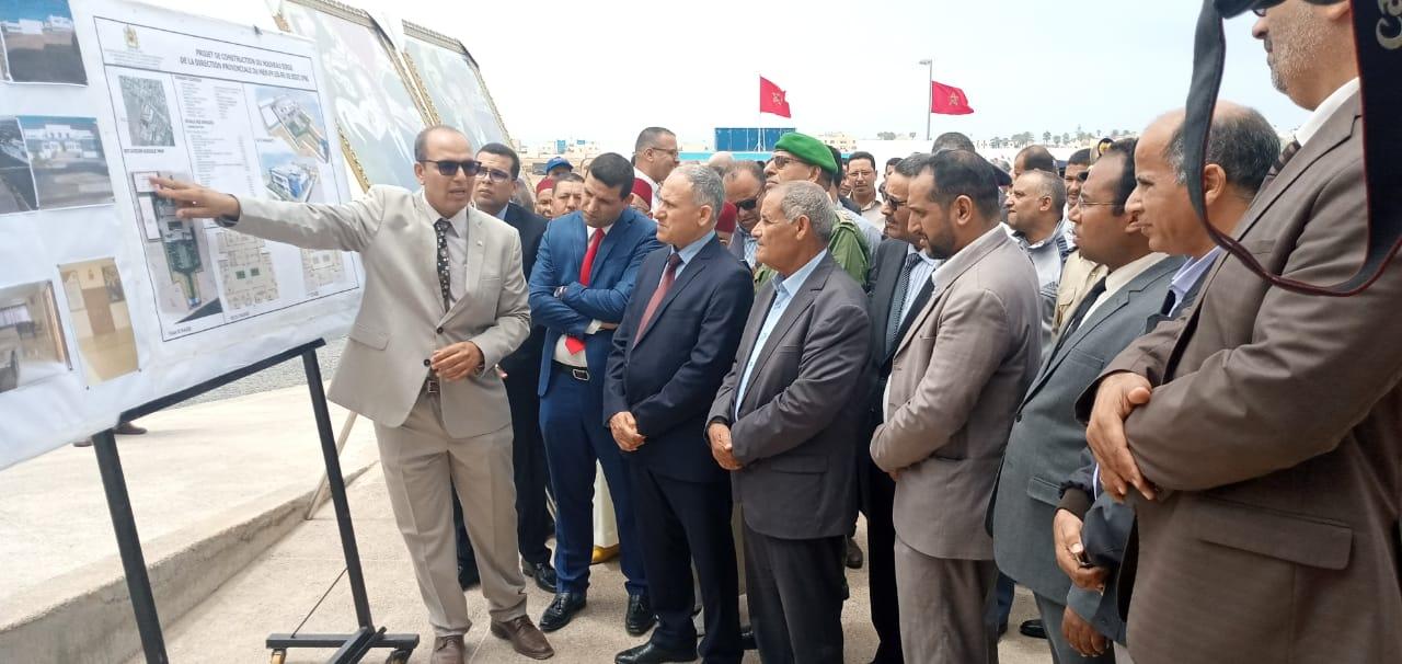 سيدي إفني: عامل الإقليم يُدشن مقر جديد للمديرية الإقليمية لوزارة التربية الوطنية