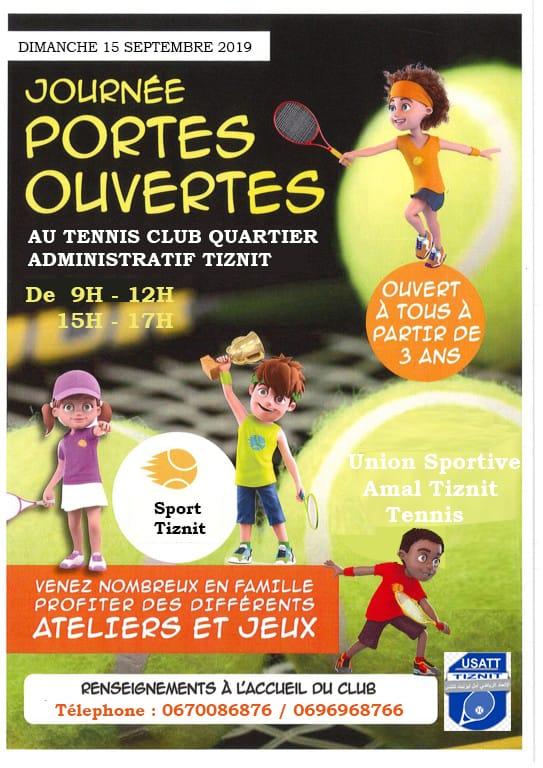تيزنيت : نادي الاتحاد الرياضي أمل تيزنيت للتنس ينظم يوما مفتوحا في رياضة كرة المضرب