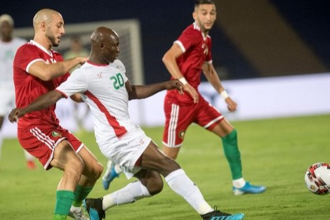 المنتخب الوطني يتعادل مع منتخب بوركينا فاسو في مباراة ودية