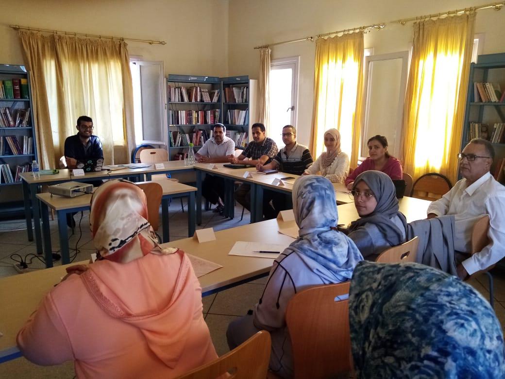تيزنيت : لقاء للجمعيات بالمركز الثقافي التربوي العين الزرقاء في إطار التحضير للموسم الجمعوي لهذه السنة