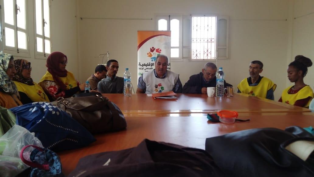 المعدر الكبير: جمعية الدشيرة تنظم لقاء تأطيري لفائدة المستفيدات من التكوين بمركز التكوين بالدشيرة
