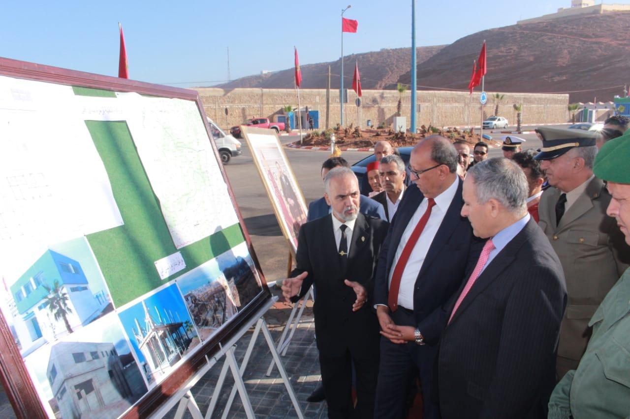بالصور :  تدشين مركز جديد للجمارك بميناء سيدي إفني