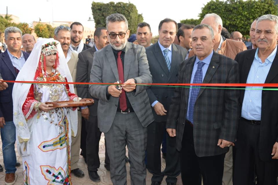 تيزنيت : بالصّور ..افتتاح المعرض الاقليمي للصناعة التقليدية