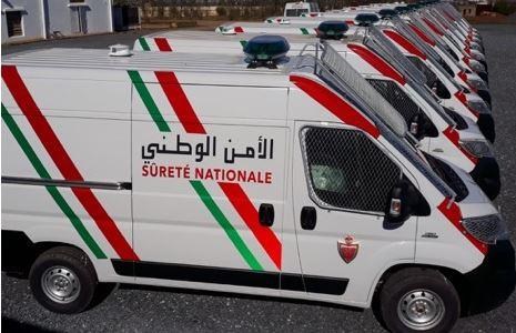 الأمن الوطني يجدد أسطوله بأزيد من 200 سيارة