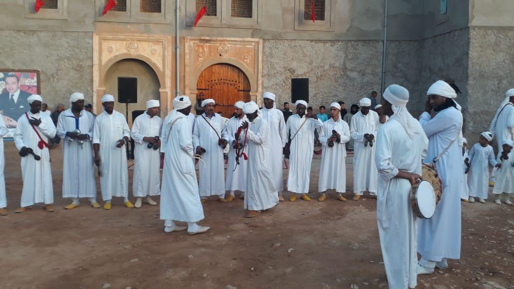 أولادجرار تشهد إختتام أعرق مهرجان للفن الكناوي بالمغرب
