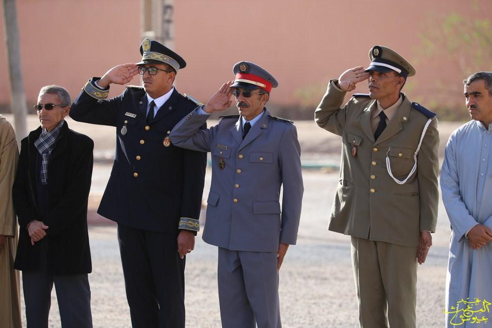 إرسموكن:بالصّور .. مراسيم تحية العلم الوطني للذكرى الـــ 64 لعيد الاستقلال المجيد