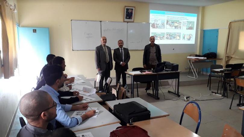 تيزنيت :المديرية الإقليمية للتعليم تنظم دورة تكوينية لفائدة أساتذة المواد غير اللغوية (DNL)