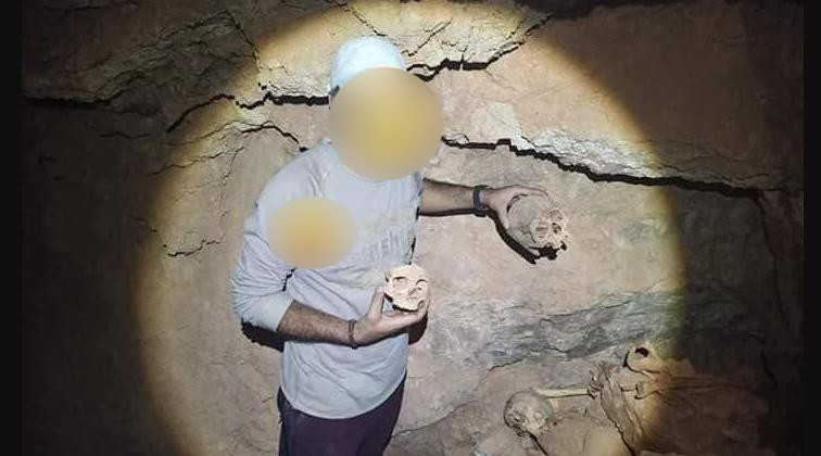 تارودانت : العثور داخل مغارة على هيكل عظمي مكبل اليدين و عشرات الجماجم !