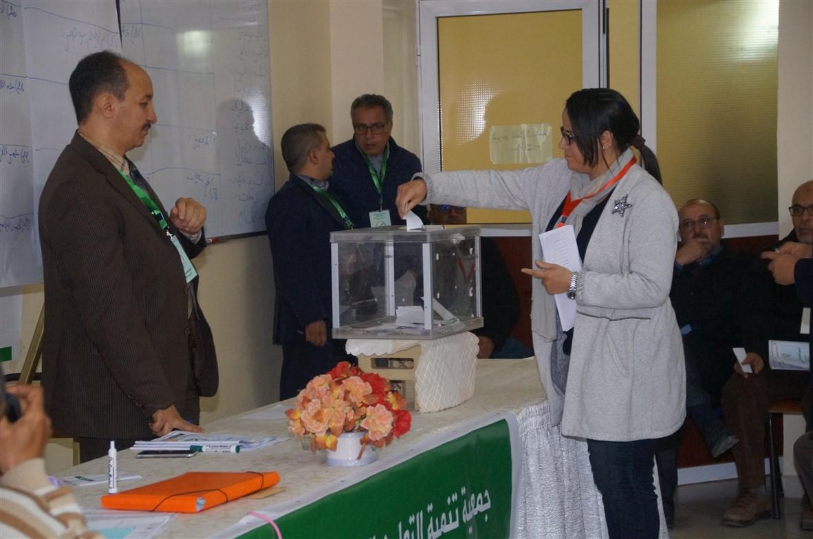 تيزنيت : شذرات من الجمع العام لتجديد مكتب جمعية التعاون المدرسي