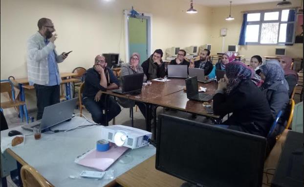 أنزي : الثانوية التأهلية محمد الجزولي تحتضن دورة تكوينية حول استخدام منصة أليس للتكوين التفاعلي عن بعد