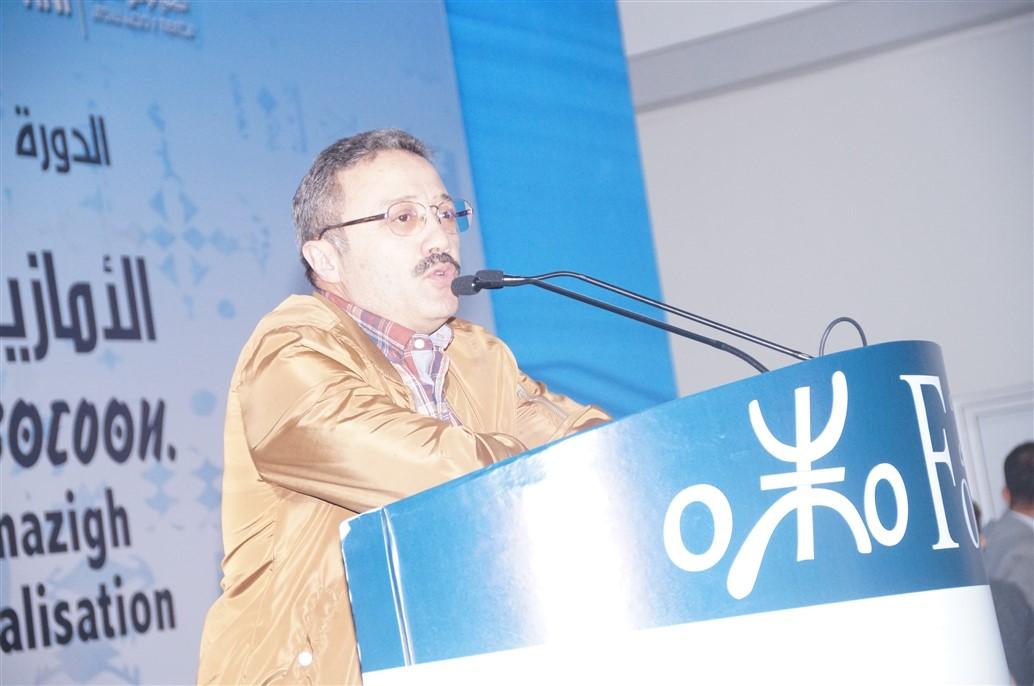 """تيزنيت : """"أرحموش"""" يطالب من نشطاء الحركة الأمازيغية الإنخراط المباشر في العمل السياسي"""