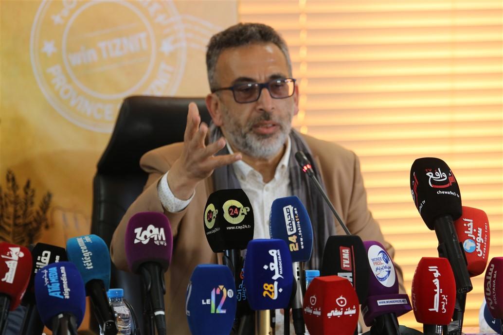 """ندوة صحفية لتسليط الضوء على """"أيام إقليم تيزنيت بأكادير"""""""