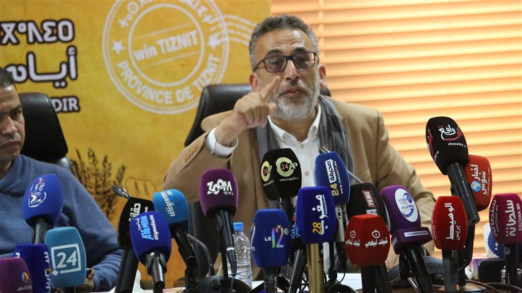 """فيديو .."""" عبدالله غازي """"يتحدث عن سياق و أهداف تنظيم تظاهرة """"أيام إقليم تيزنيت بأكادير"""""""