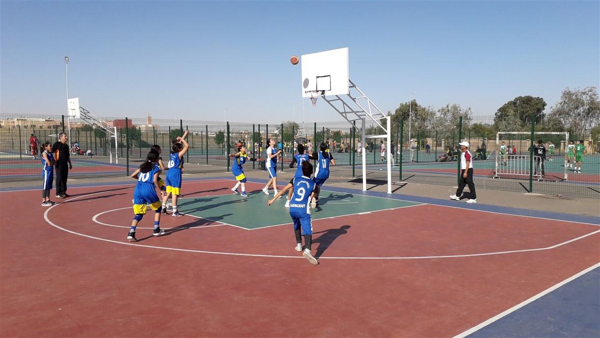 تيزنيت : بالصور ..المديرية الاقليمية تنظم البطولة الجهوية  المدرسية للرياضات الجماعية