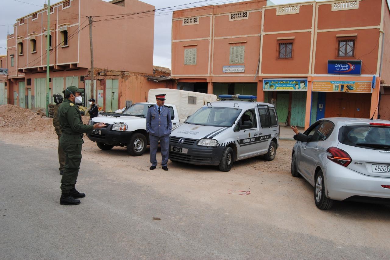 تيغمي : السلطة المحلية تواصل جهودها لتطبيق حالة الطوارئ الصحيّة