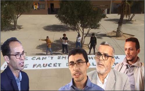 تيزنيت : مشاركة فريق الصحفيون الشباب بثانوية الحسن الثاني في مباراة الصحفيون الشباب من أجل البيئة