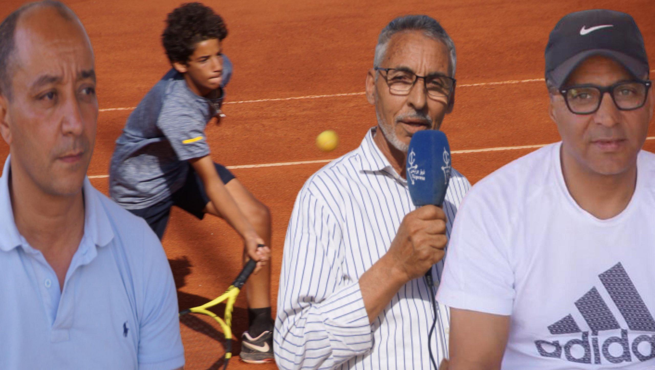 تيزنيت : نادي أمل تيزنيت للتنس يتألق في احتضان البطولة الوطنية لدوري الدرجة الثالثة لكرة المضرب