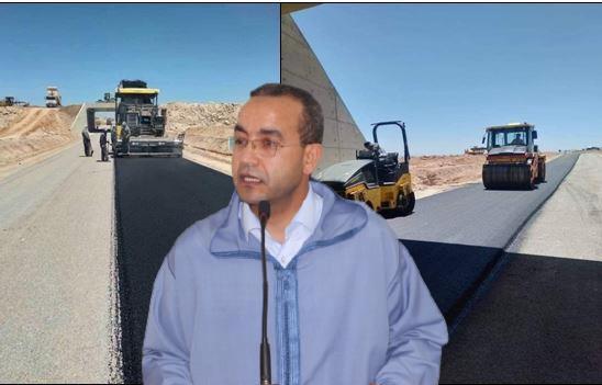 """سيدي بوعبد اللي : """" بعزيز """" يسائل وزير التجهيز عن التدابير المتخدة لمعالجة أضرار مشروع الطريق السريع تيزنيت – الداخلة على مستوى جماعة سيدي بوعبداللي"""