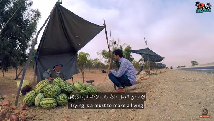 فيديو ..كوخ السعادة وسط المزارع الرملية لإرسموكن