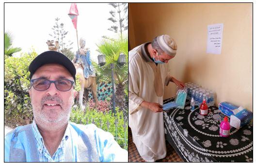 """أكلو : تجديد الثقة في """" الحسن ادكرام"""" رئيسا لجمعية الدرب للتنمية والاعمال الاجتماعية والمحافظة على البيئة بزاوية اكلو"""
